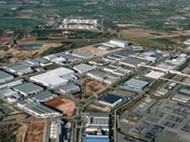 Mapa de suelo industrial de la Comunidad Valenciana