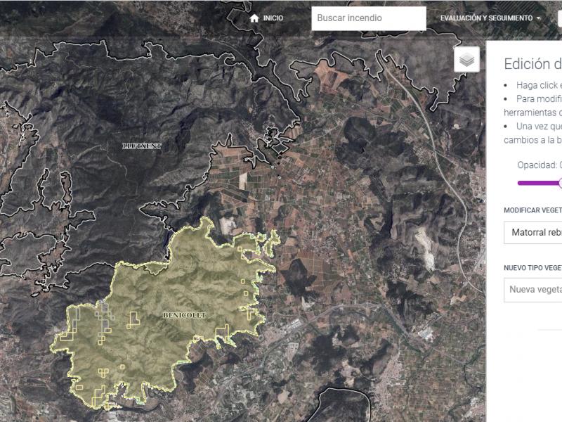 Aplicación GIS para la ayuda a la regeneración de bosques